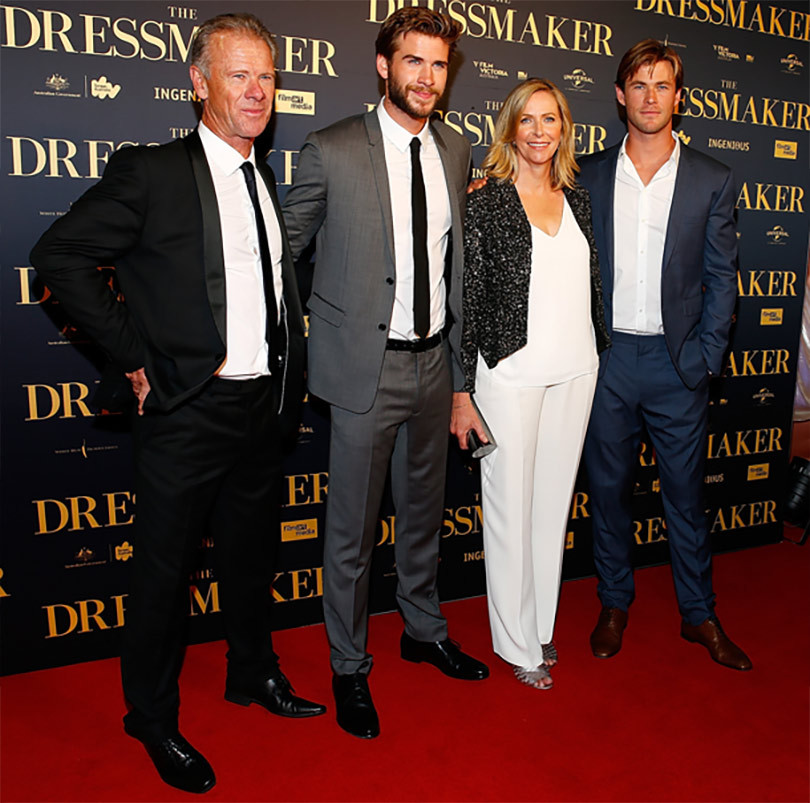 Liam Hemsworth & Family Steal the Show at Australian ...