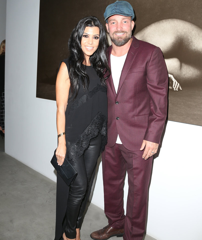 Kourtney Kardashian Looks HOT as She Celebrates Her Nude Shoot With Brian Bowen Smith