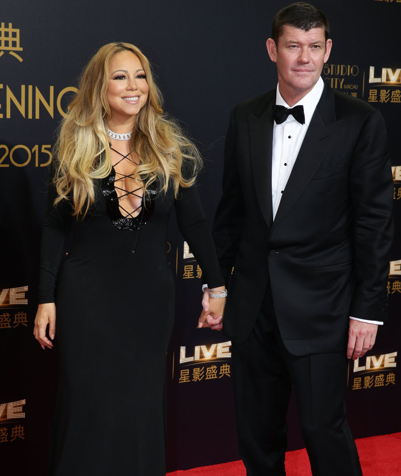 Mariah Carey and James Packer Look So In Love at His Casino Opening