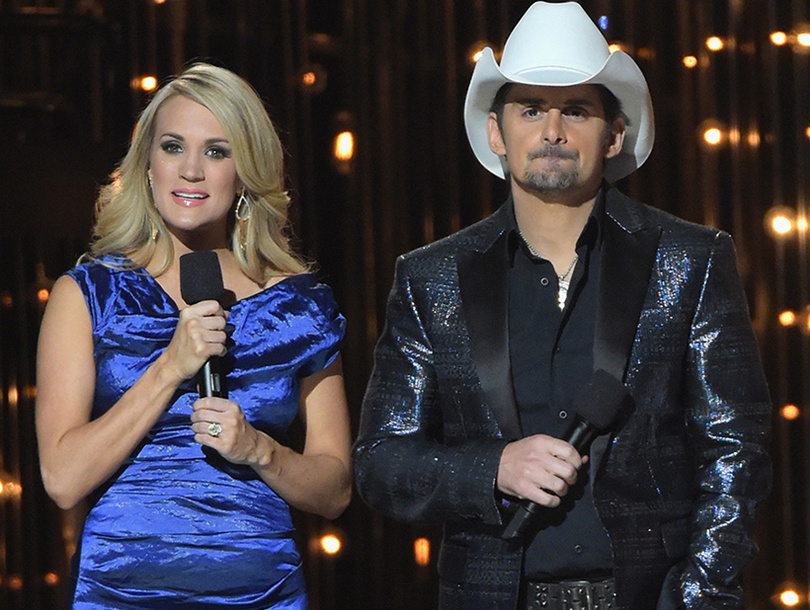 Cma awards open with jokes about blake shelton josh for How many kids does brad paisley have