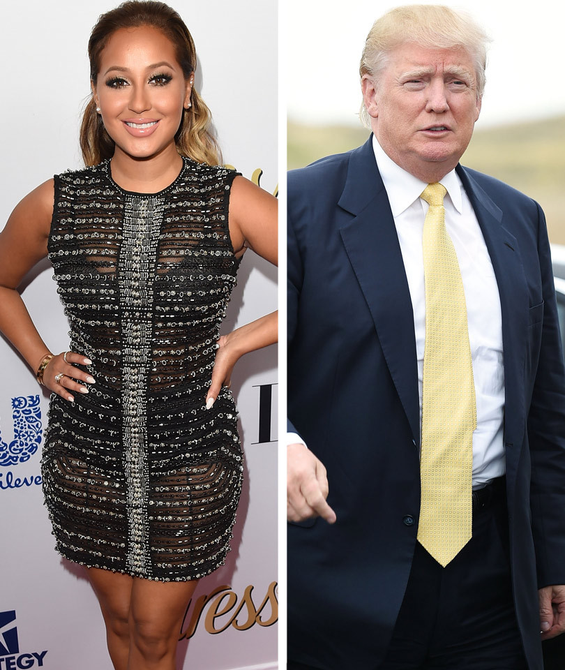 "Adrienne Bailon Slams Donald Trump's ""SNL"" Gig, Says It's a ""Platform to Be a Fool"""