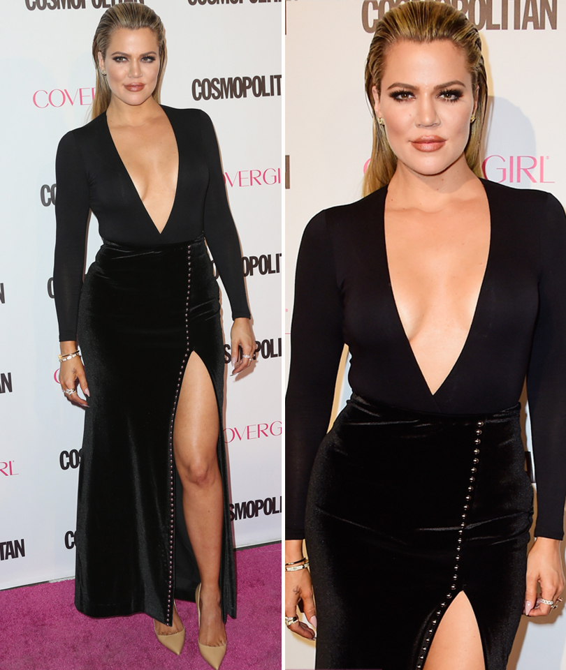 "Khloe Kardashian Denies Plastic Surgery Rumors, Tells Her Haters to ""Get a Life"""