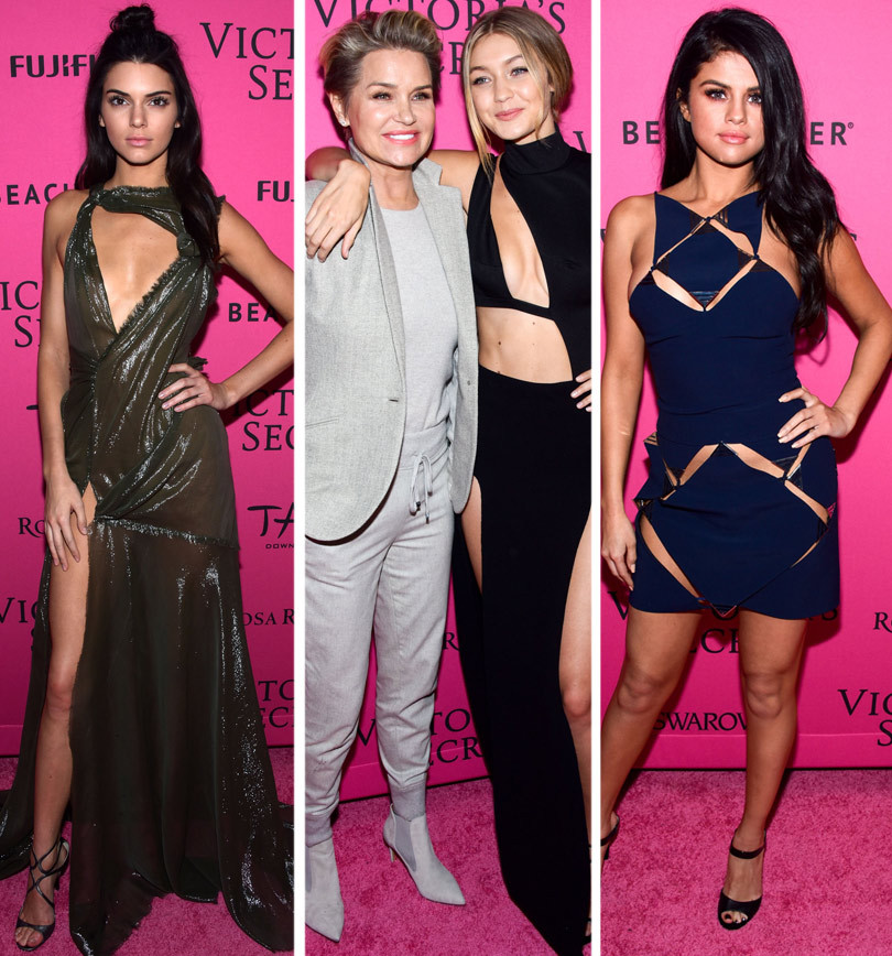 Kendall Jenner Shows Serious Skin at Victoria's Secret After Party -- Plus, You've Gotta See Gigi, Selena & More!