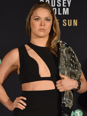 Ronda Rousey Dukes It Out With Gigi Hadid Over Cut Out Bodysuit -- Who Wore It Better?!