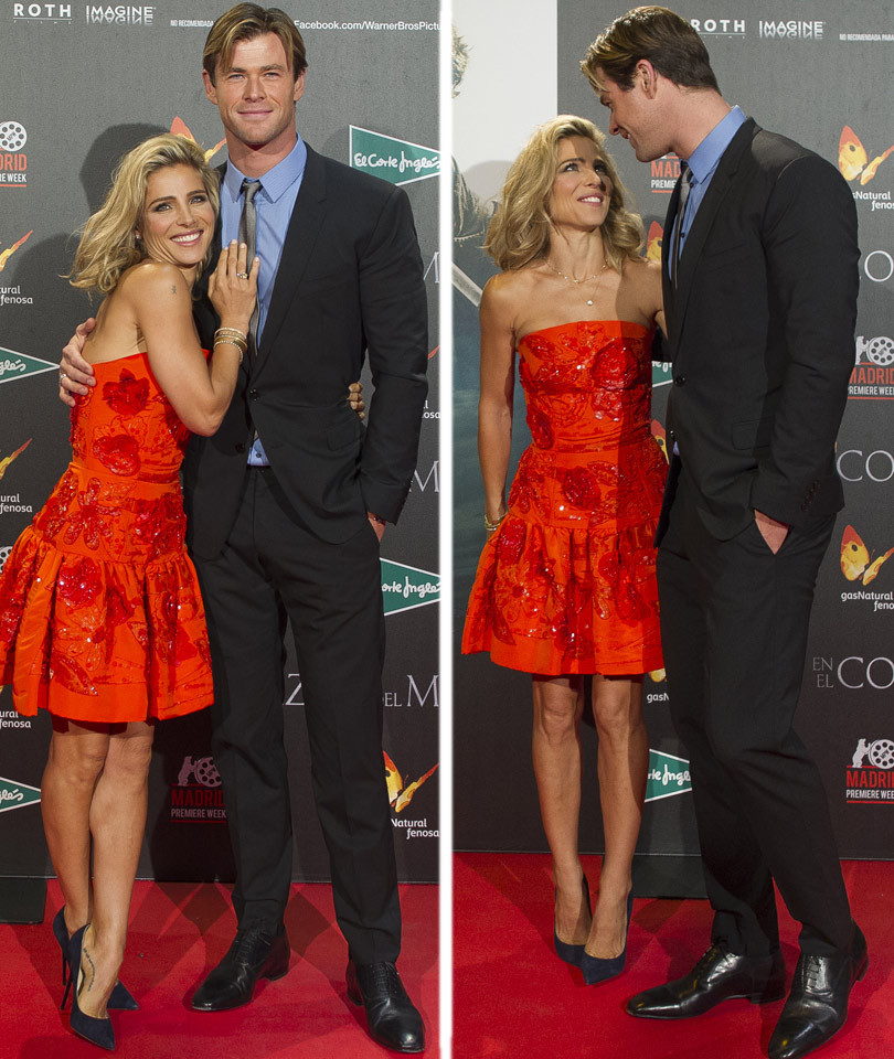 "Chris Hemsworth & Wife Elsa Pataky Look So In Love At ""In ..."