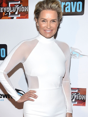 """Yolanda Foster Makes First Post-Split Appearance at """"RHOBH"""" Premiere Party"""