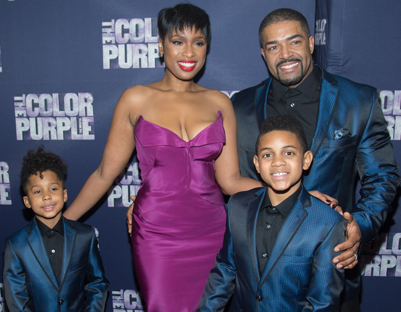 jennifer hudsons adorable family supports her at opening
