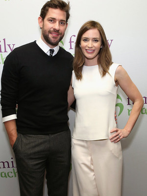 "John Krasinski Admits Emily Blunt ""Hates"" His Muscles, Says She Wants Her ""Doughy"" Guy Back"
