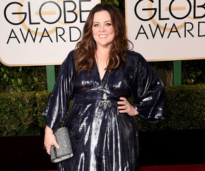 Melissa McCarthy Shows Off Weight Loss In Black Metallic Dress At The Golden Globes --…