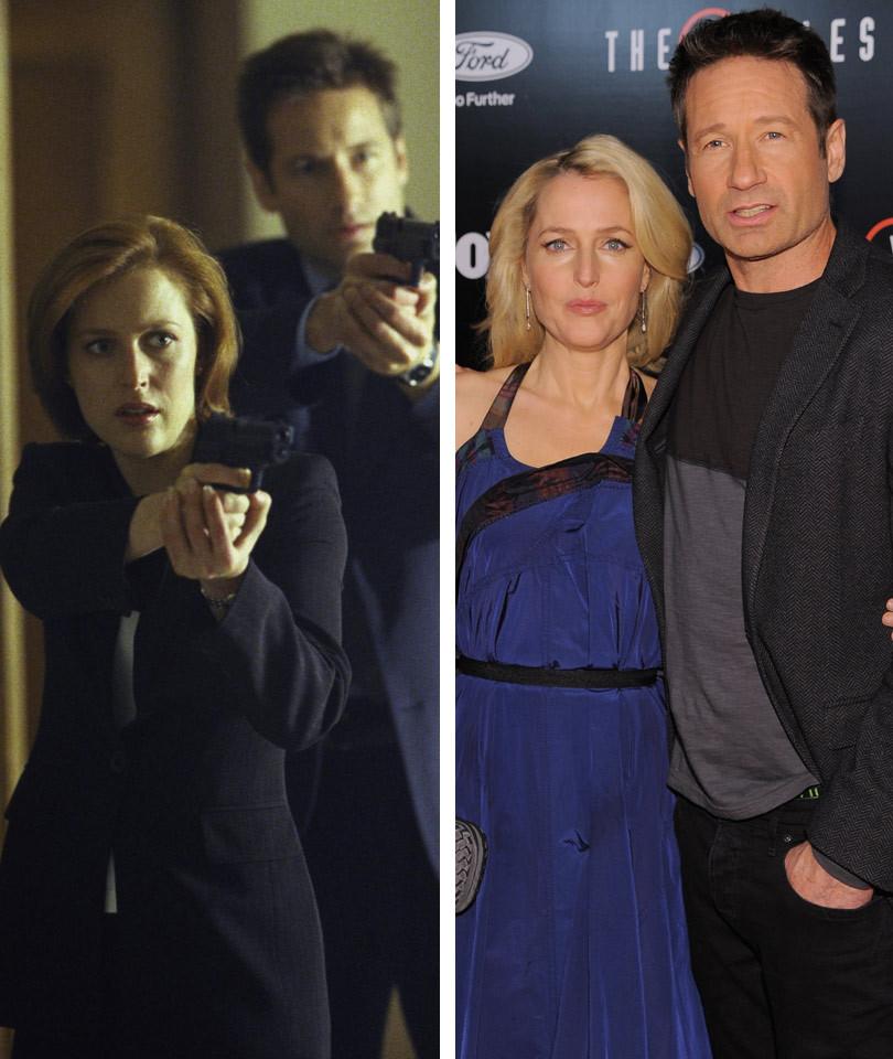 Mulder & Scully FINALLY Have Sex ... As Jimmy Kimmel