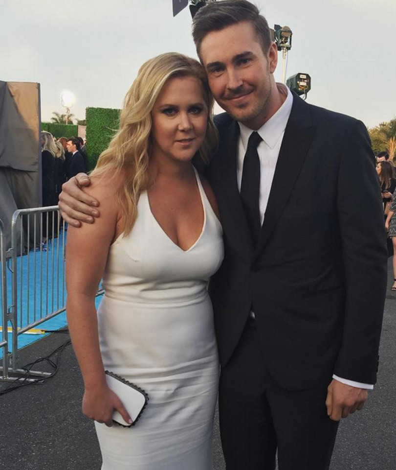 Who has amy schumer dated in Brisbane