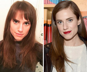 Allison Williams: Bangs or No Bangs?