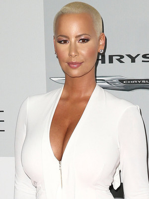 Amber Rose Sets the Record Straight About Those Scott Disick Dating Rumors