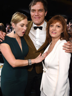 """Kate Winslet Can't Stop Talking About Susan Sarandon's """"T**s"""" -- Plus, See Her Gush About Leonardo DiCaprio!"""