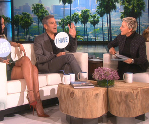 "George Clooney and Rihanna Play ""Never Have I Ever"""