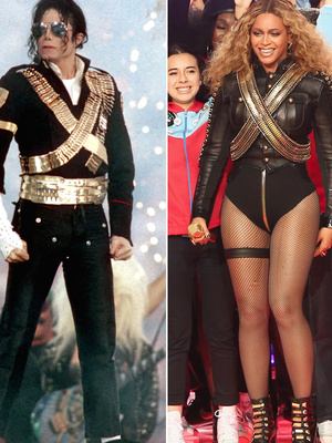 See How Beyonce Honored Michael Jackson During Epic Halftime Show at Super Bowl 50