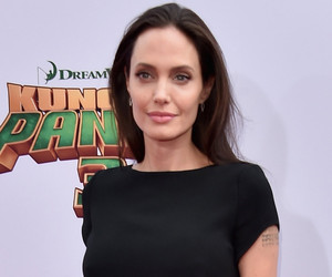 Angelina Jolie Got Three New Tattoos on Her Back -- And They're Massive!