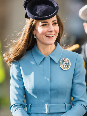 Kate Middleton is Stunning in Blue -- See More of her Royal Fashion!
