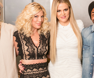 """Tori Spelling Makes One Nasty Confession Involving Urination on """"Kocktails with Khloe"""""""