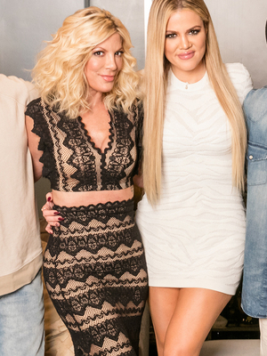 "Tori Spelling Makes One Nasty Confession Involving Urination on ""Kocktails with Khloe"""
