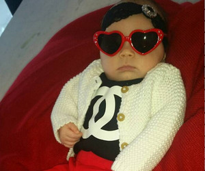 """Coco Austin Shows Off Baby Chanel's Sparkly Baby Louboutins: """"She is Just Too Fabulous"""""""