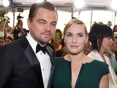 """Kate Winslet Says She Won't Boycott Oscars Because Of """"Closest Friend In The World"""" Leonardo DiCaprio"""