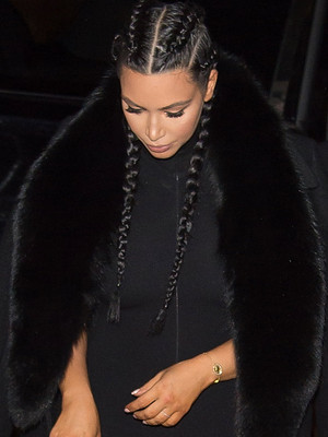 Kim Kardashian Flaunts Post-Baby Bod in Skintight Jumpsuit -- Like the Look?!