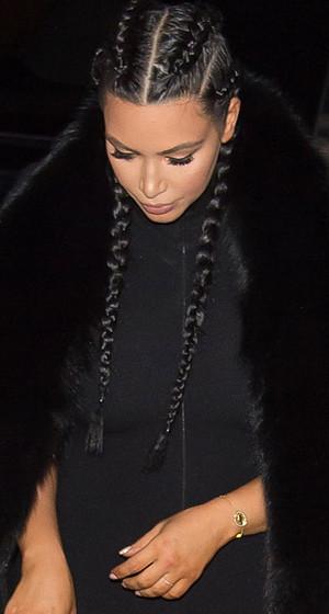Kim Kardashian Flaunts Post-Baby Bod in Skintight Jumpsuit -- Like the Look?!