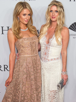 Paris & Pregnant Nicky Hilton Shine at amfAR Gala In NYC