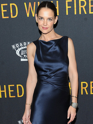 "Katie Holmes Is Perfection at ""Touched by Fire"" Premiere -- As Director Reveals Crazy…"