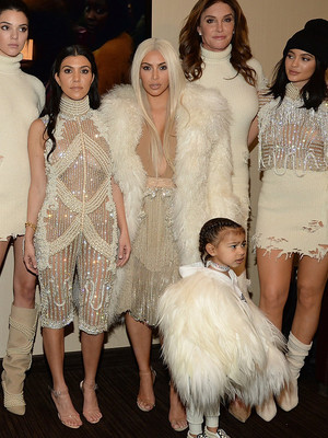 The Entire Kardashian Clan -- Including Lamar & North -- Attend Kanye's Yeezy Season…