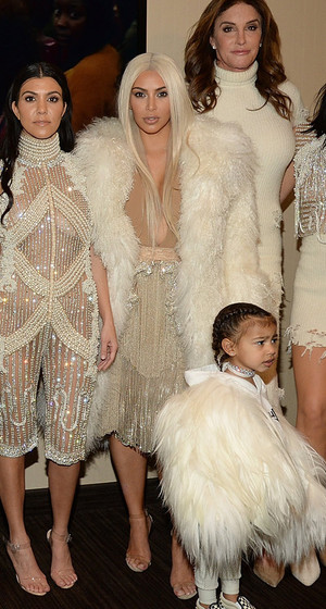 The Entire Kardashian Clan -- Including Lamar & North -- Attend Kanye's Yeezy Season 3 Show In NYC!