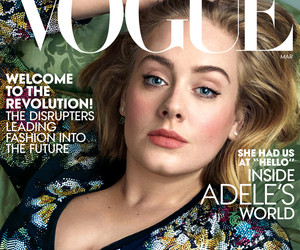 """Adele Looks Flawless on the Cover of Vogue -- Jokes Wearing Spanx Is Like """"Pumping a Sausage Bag Full of Meat!"""""""