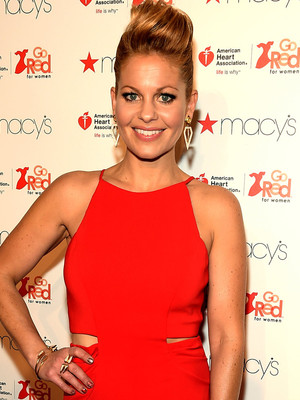 Candace Cameron Is Red Hot at Go Red For Women Event