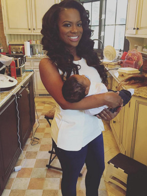 "Kandi Burruss Credits Breastfeeding for Her Slim Post-Baby Bod: ""I'm Smaller Now Than I…"