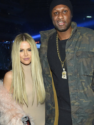 Khloe and Lamar Reunite at Kanye's Show During NYFW