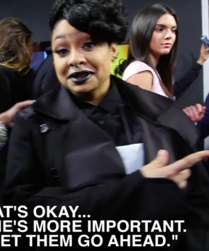 See the Moment Raven-Symone Was Snubbed for Kendall Jenner