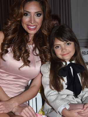 Farrah Abraham Brings Daughter to NYFW -- See the Pics!