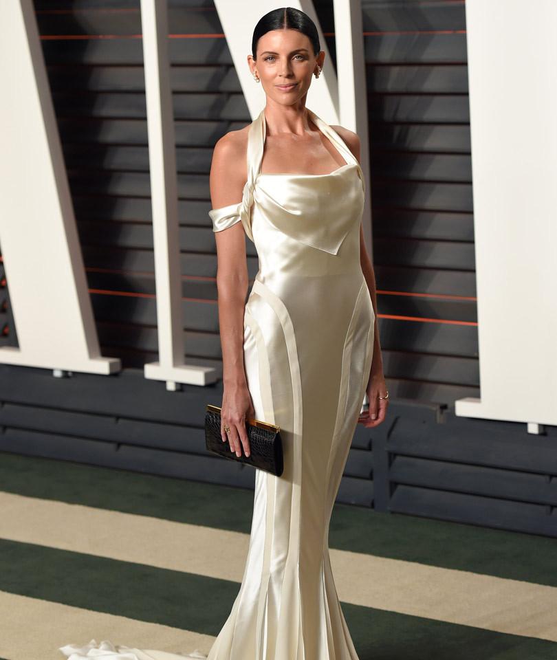 liberty ross wears her wedding dress to 2016 vanity fair