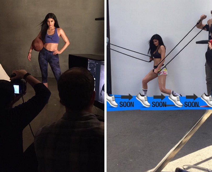 Kylie Jenner's Puma Campaign Is Happening -- And Her Bod Is On Point In First Images!