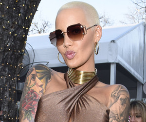 Amber Rose with Hair?!? Wait'll You Get a Look at Her New 'Do!