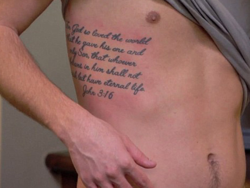 chrisley knows best star chase chrisley 39 s massive tattoo