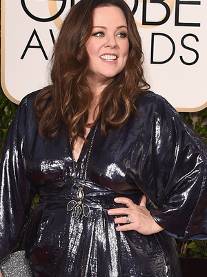 """Melissa McCarthy Takes a Stand Against """"Plus-Size"""" Label, Reveals Her New Dress Size"""