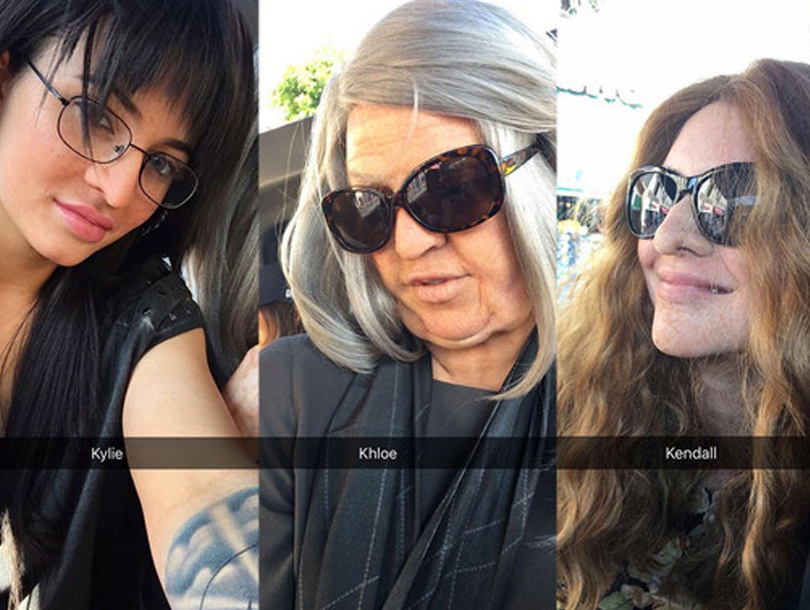 Khloe, Kylie & Kendall Go Incognito to Take Hollywood Tour