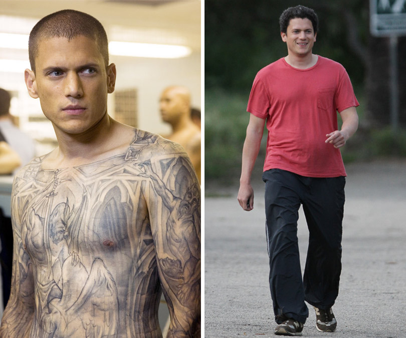 Wentworth Miller Fights Back Against Body Shaming Meme, Shares Powerful Message About Suicide & Weight Struggle