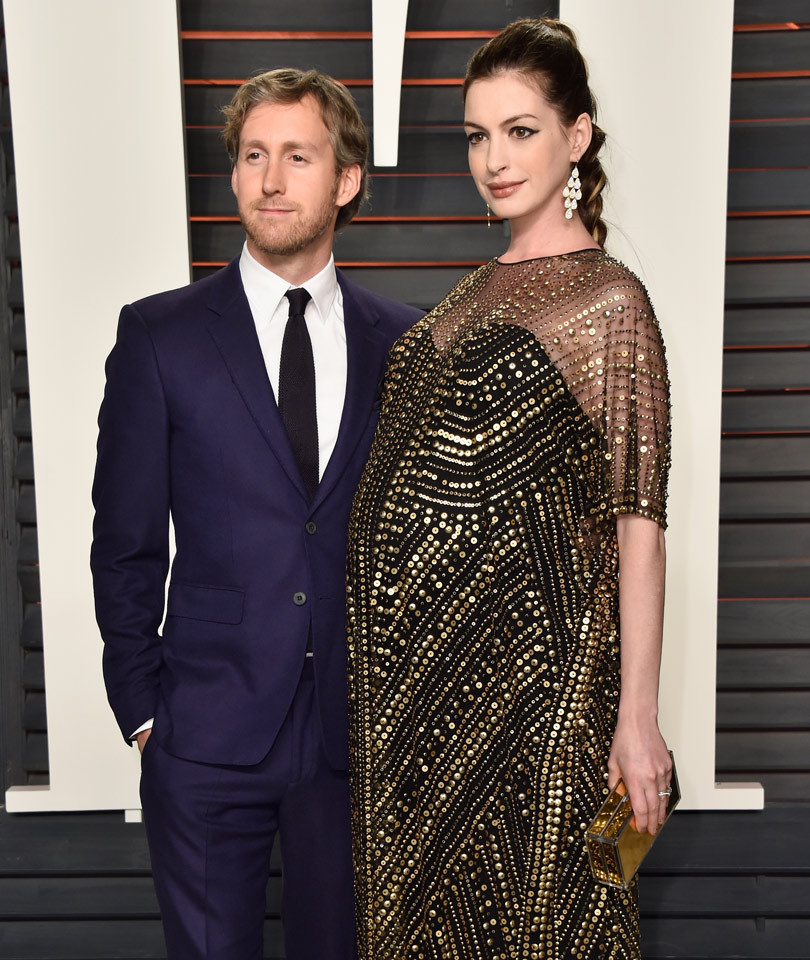 Anne Hathaway Now And Then: Anne Hathaway And Husband Adam Shulman Welcome Baby Boy