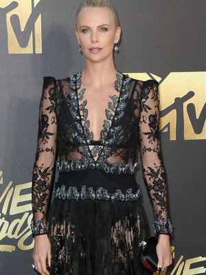 Charlize Slays! See All the Hottest Looks from the 2016 MTV Movie Awards' Red Carpet