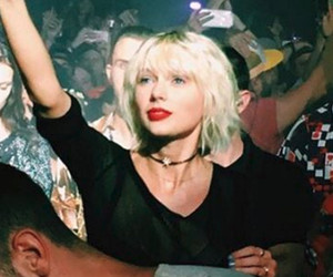 Taylor Swift Looks So In Love with Calvin Harris at Coachella -- See the Adorable Snap!
