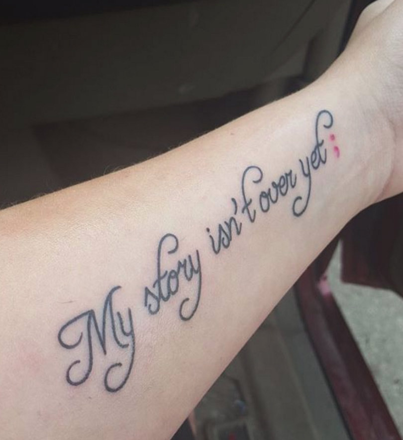 Catelynn Lowell Gets New Tattoo After Completing Treatment ...