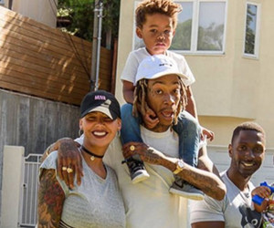 Amber Rose Hangs With Ex Wiz Khalifa and Their Adorable Son -- Bash Is SO Big Now!